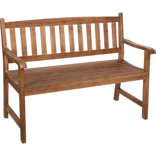 Cypress Wood Bench