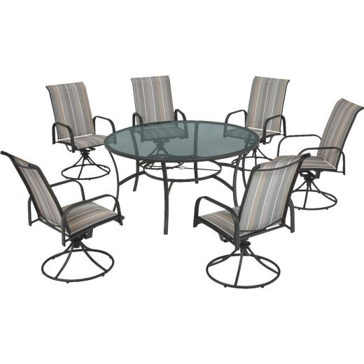 Outdoor Expressions Canyon Hills 7-Piece Dining Set