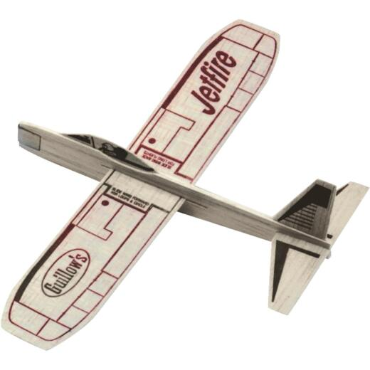 Paul K Guillow JetFire 12 In. Balsa Wood Glider Plane
