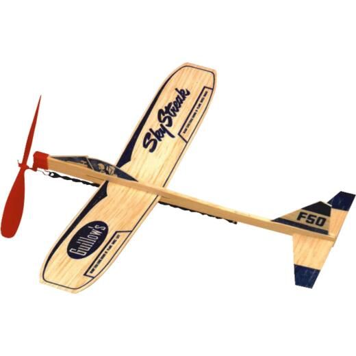 Paul K Guillow Sky Streak 12 In. Balsa Wood Glider Plane