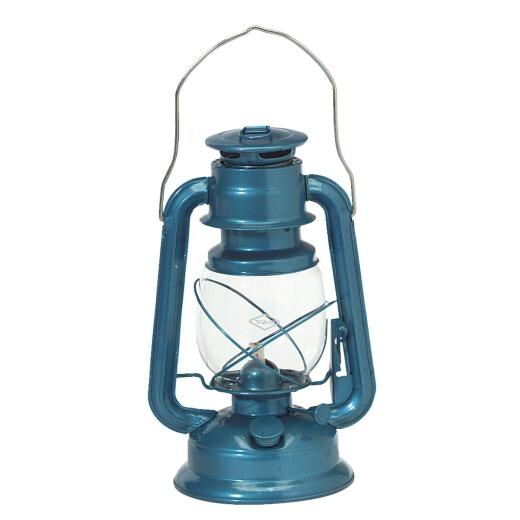 21st Century Camper 11 In. Blue Liquid Fuel Lantern