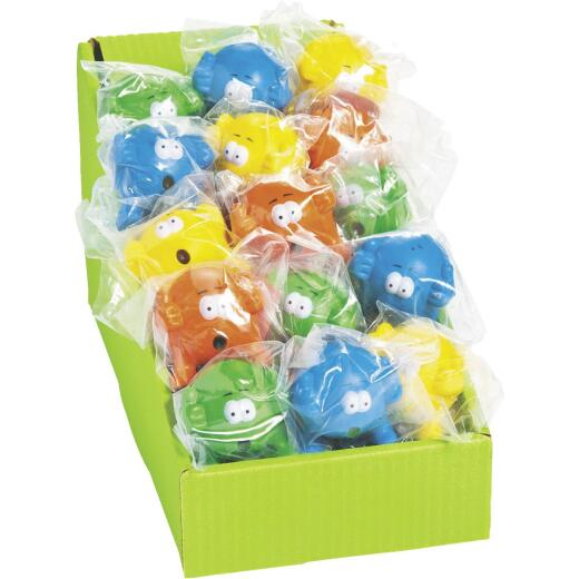 Fun Express Assorted Characters 2 In. Rubber Stress Ball