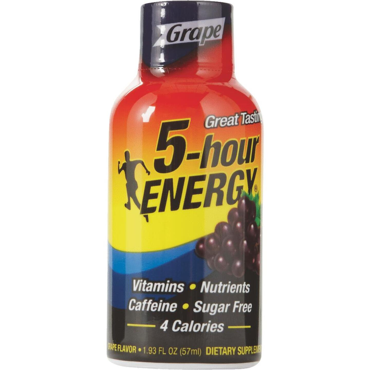 5 Hour Energy 1.93 Oz. Grape Flavor Energy Drink Image 1